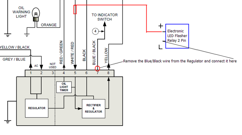 Wiring Diagram Vespa 50 Special : Modern vespa lx indicators problem