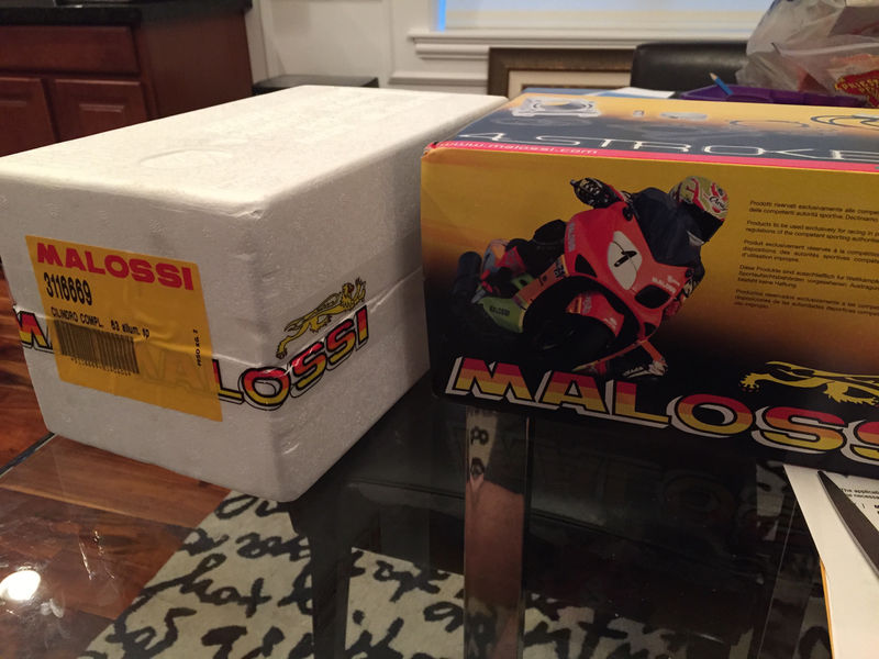 Modern Vespa : Malossi Big Bore Kit on my 946!!!