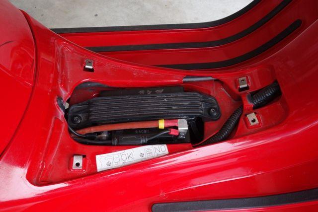 Modern Vespa   Gts Battery Change  Tight Space