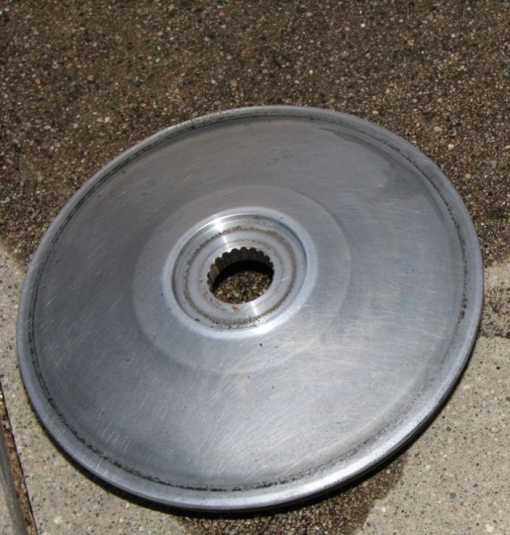 09 Cleanup outer half pulley.JPG