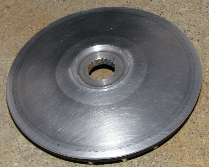 10 Cleanup outer half pulley.JPG