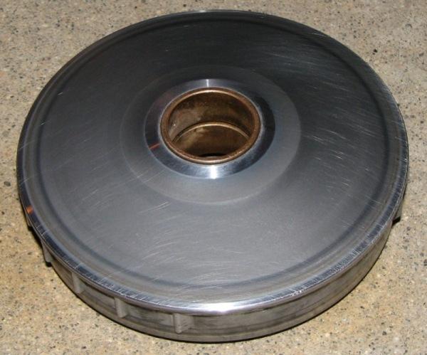 13 Cleanup inner half pulley.JPG
