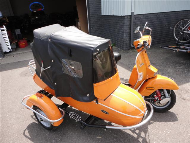 genuine scooter sidecar tattoo design bild. Black Bedroom Furniture Sets. Home Design Ideas