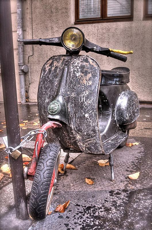 dirty vespa by mcdeesh - photo #9