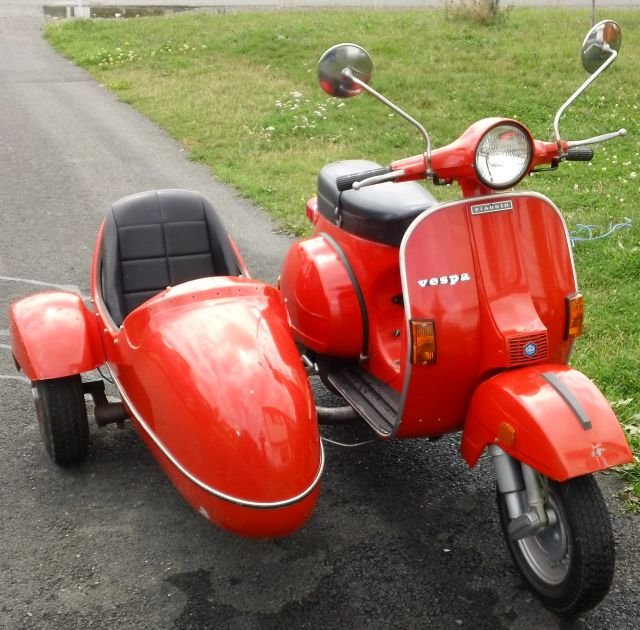 Modern Vespa Help With Partner Sidecar Setup Made By