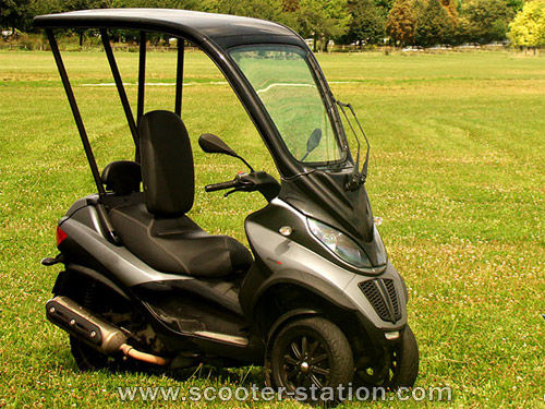 modern vespa : piaggio mp3 competitors/alternatives in the united
