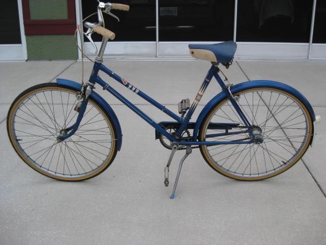 Modern Vespa Got A Bicycle Show N Tell O