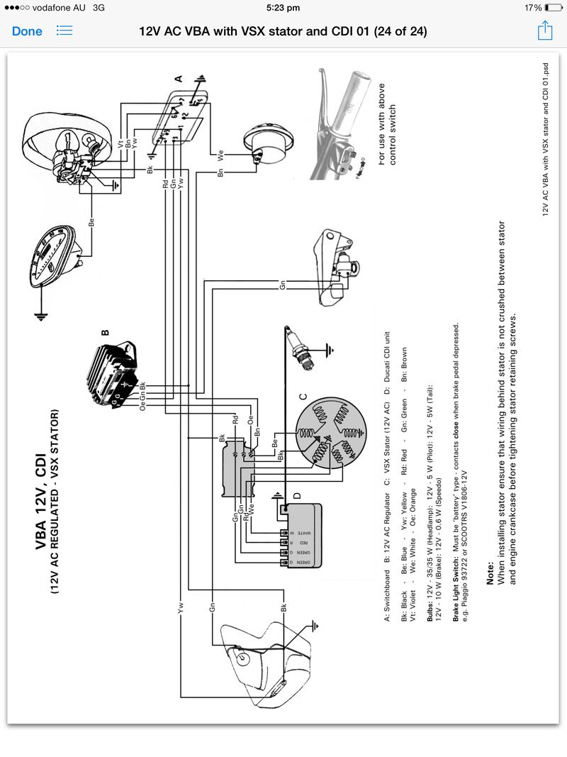 vbb wiring diagram modern vespa : help with electricity and wiring vbb frame ... 1997 f250 wiring diagram door