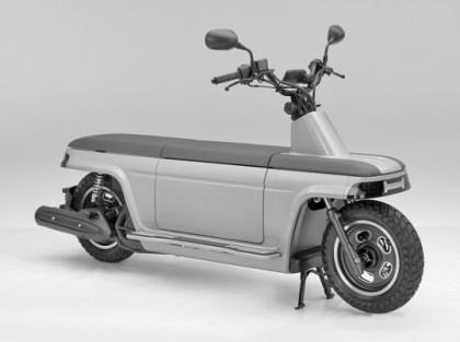 Honda Vespa on Modern Vespa   Honda Motocompo Returns