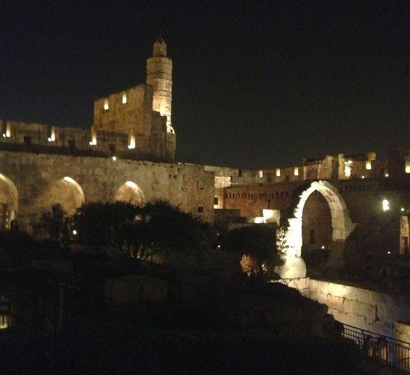 Jerusalem Old City at Night.jpg