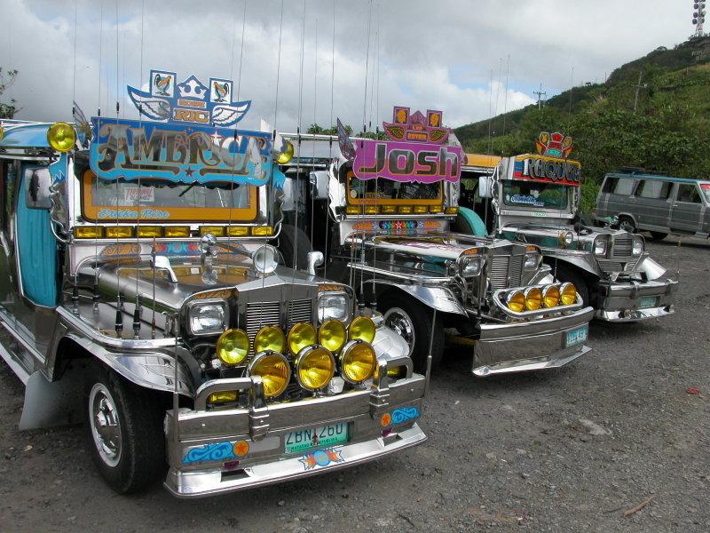 Jeepneys at Tagaytay.JPG