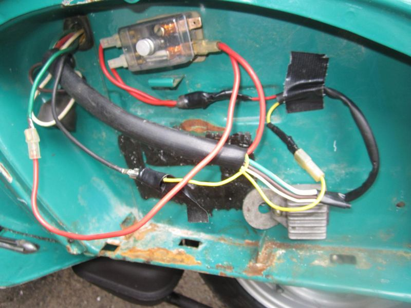 wiring diagram for 1980 vespa p200e 1980 vespa p125