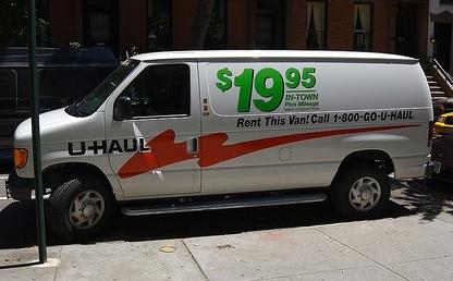 U haul $20 a day