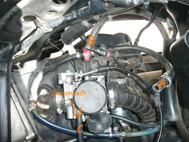 vespa carburetor diagram modern    vespa    lx150 complete evap system removal  modern    vespa    lx150 complete evap system removal