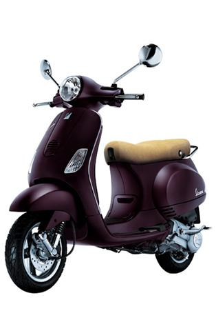 Modern Vespa : Purple Vespa :D