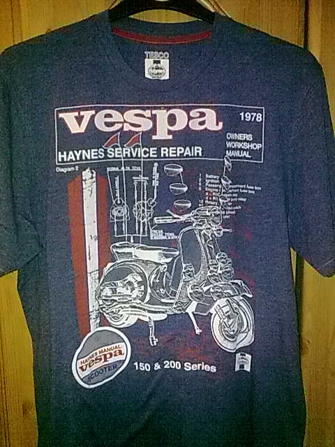 modern vespa uk ssr vespa tshirt. Black Bedroom Furniture Sets. Home Design Ideas