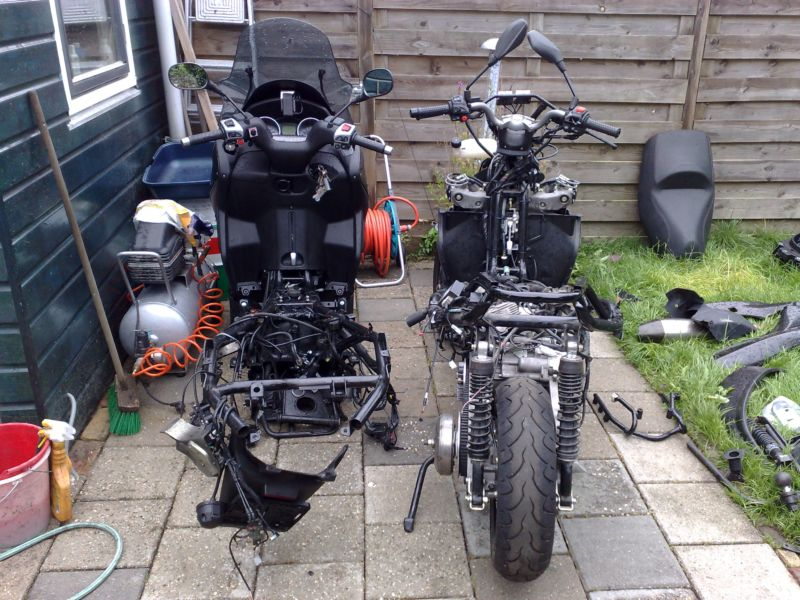 modern vespa : need quick advice on swapping engines