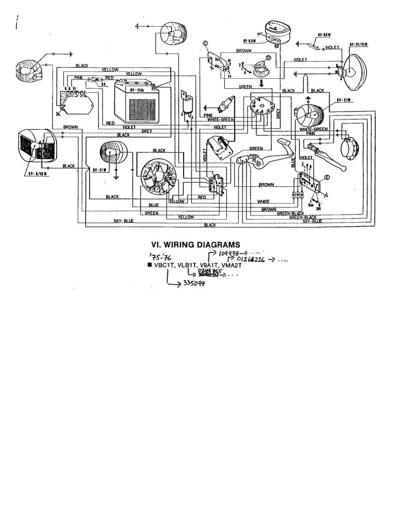 Husaberg 570 Wiring Diagram Custom Project 1977 Caprice Schematic Vespa Vbb